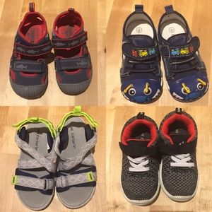 Carter's Shoes - Toddler boys summer shoes bundle sizes 7 & 8